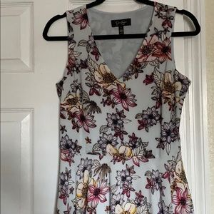 Jessica Simpson V-neck handkerchief dress